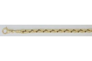 Collier Anker oval Gelbgold 750, ca. 4.2mm, 45cm