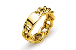 Ring Gelbgold 750 Infinity